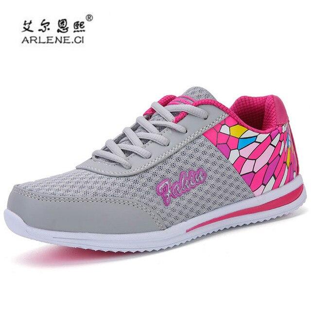 51b3b3f09c9a Ginásio Trilha Tênis para As Sapatilhas Das Mulheres Sapatos 2018 Moda  Senhora Ultra Luz Ao Ar