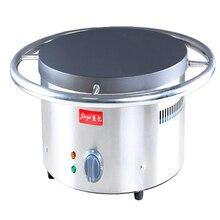 1PC Commercial electric manual spinning class ji furnace shredded cake machine 45 cm diameter Fried pancakes