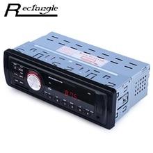 12 V Car Audio Estéreo Reproductor de MP3 de la Ayuda FM SD AUX Interfaz USB para In-Dash I Din Entrada Dispositivo receptor de Radio