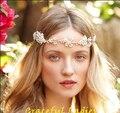 2016 romântico flor botões de pérola acessórios de noiva jóias de pérolas de água doce de noiva flexível dobrável