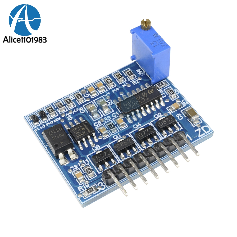 <font><b>SG3525</b></font> LM358 Inverter Driver Board 12V-24V Mixer Preamp Drive Board <font><b>Module</b></font> Diy Electronic 1A Max Power Supply image