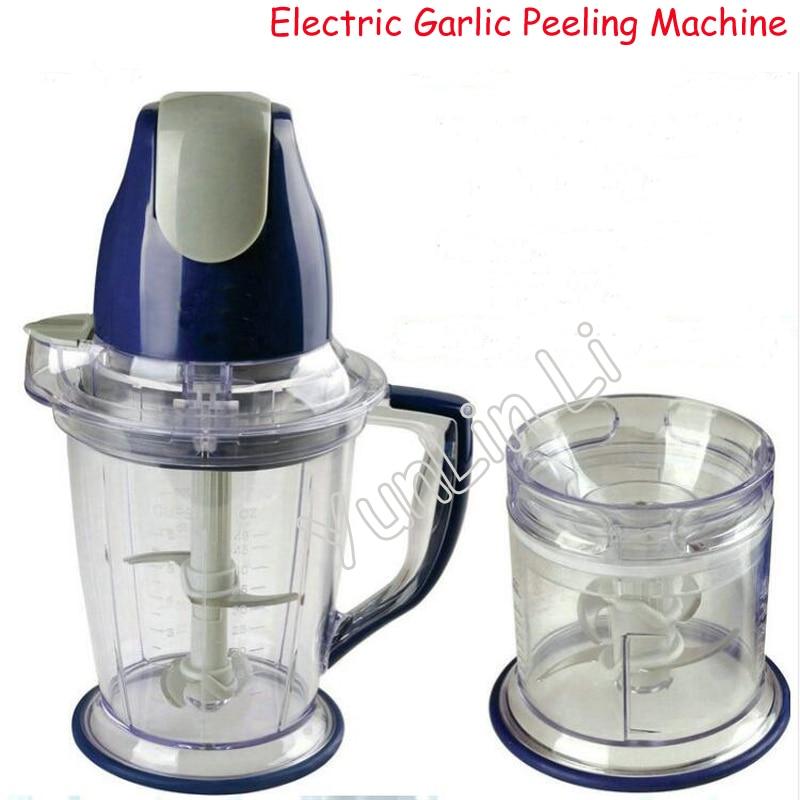 Electric Garlic Peeling Machine Household Mult-functional Garlic Peeler Meat Grinder Ginger And Garlic Fruit Pulper HA-1000 стоимость