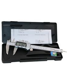 Cheapest prices 6 Inch 0-150mm Metal Digital Caliper Goniometers, metal measuring tools Industrial Calipers Measuring Tools Micrometer Guage1004