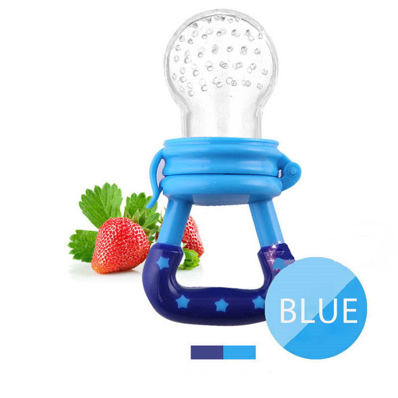 Fresh Food Nibbler Baby Pacifiers Feeder Kids Fruit Feeder Nipples Feeding Safe Baby Supplies Nipple Teat Pacifier Bottles 5