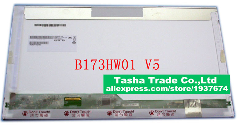 B173HW01 V5 Original New B173HW01 V.5 LCD Laptop Screen Matrix FHD 1920*1080 17.3 LVDS 40pin AU Optronics