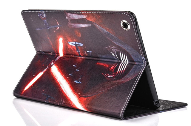 Star Wars Stormtrooper Jedi Knight Black Darth Vader PU Leather Case Cover For Apple iPad Mini 3 mini 2 1 Tablet protective case