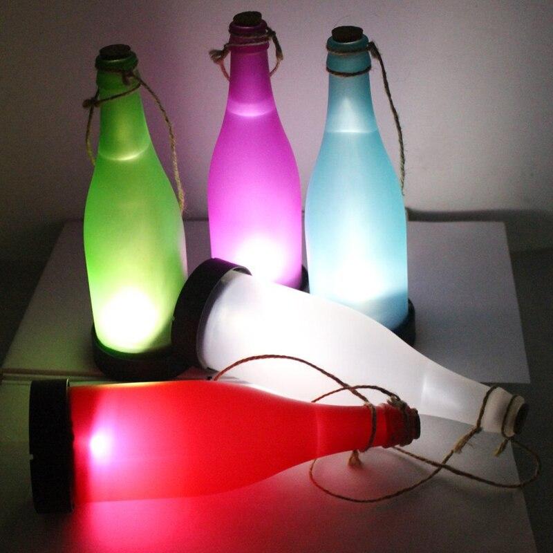 Online buy wholesale solar light bottle from china solar - Focos led exterior solares ...