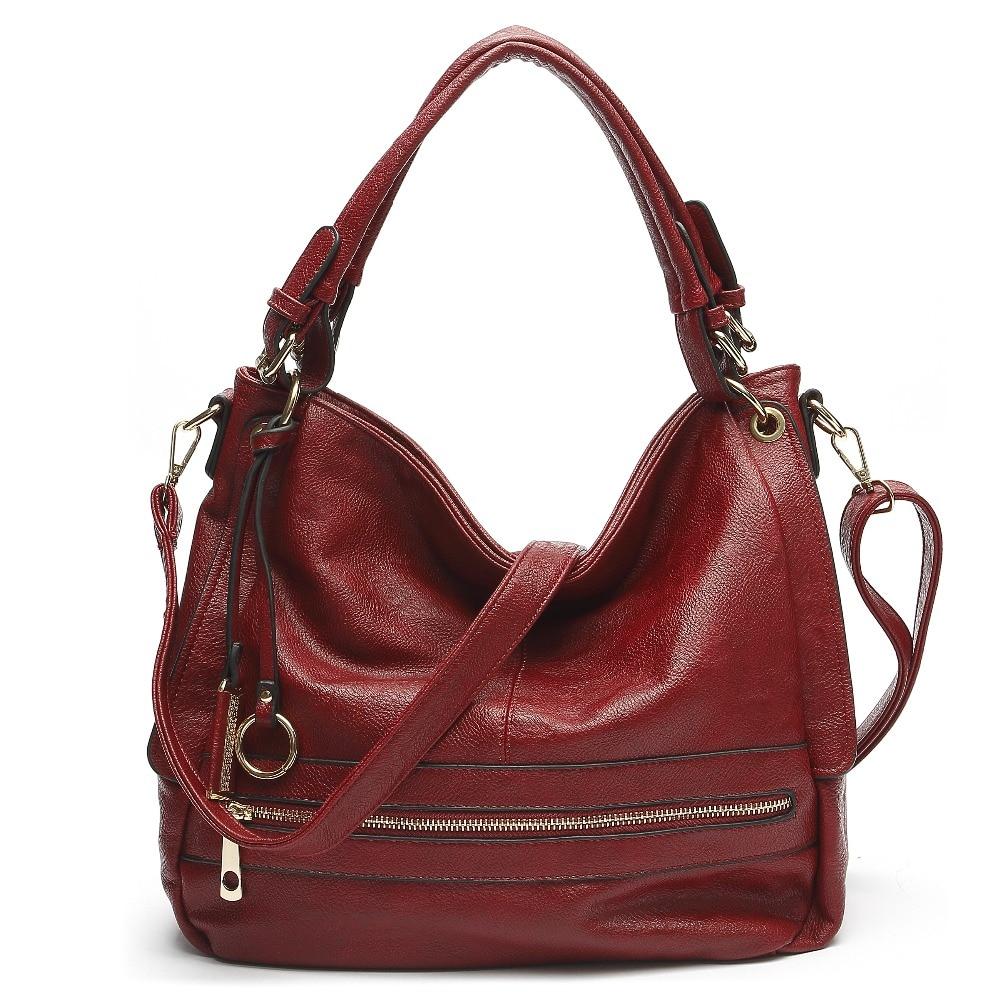 d1f9a619f3e Brand leather women bag womens messenger bags bolsa feminina luxury handbags  designer hobo satchel shoulder cross body bag tote