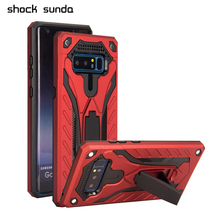 Armor Phone Case For Samsung s9 plus S9 case Silicone Full Cover for Note 9 Shockproof