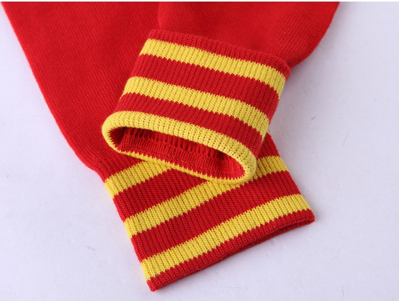 1 Pairs Socks Men Sporting Soccer The national Club Breathable Antibacterial compression Long socks for Adult 2018