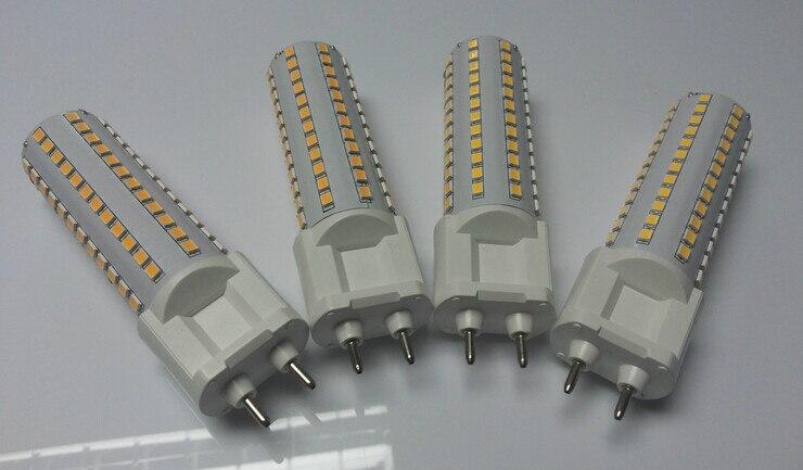 50pcs lot 120mm length 15W G12 led corn light 144 leds 1550LM G12 led bulb light AC85 265V in LED Bulbs Tubes from Lights Lighting