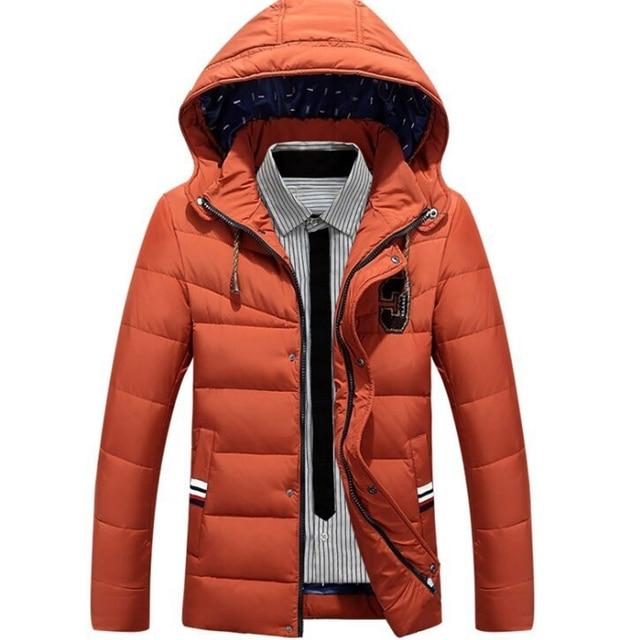 plus size Winter Jacket Men 6 styles Warm Outwear Windproof Hood Men Jacket new fashion 2016 long sleeves hot brand jacket