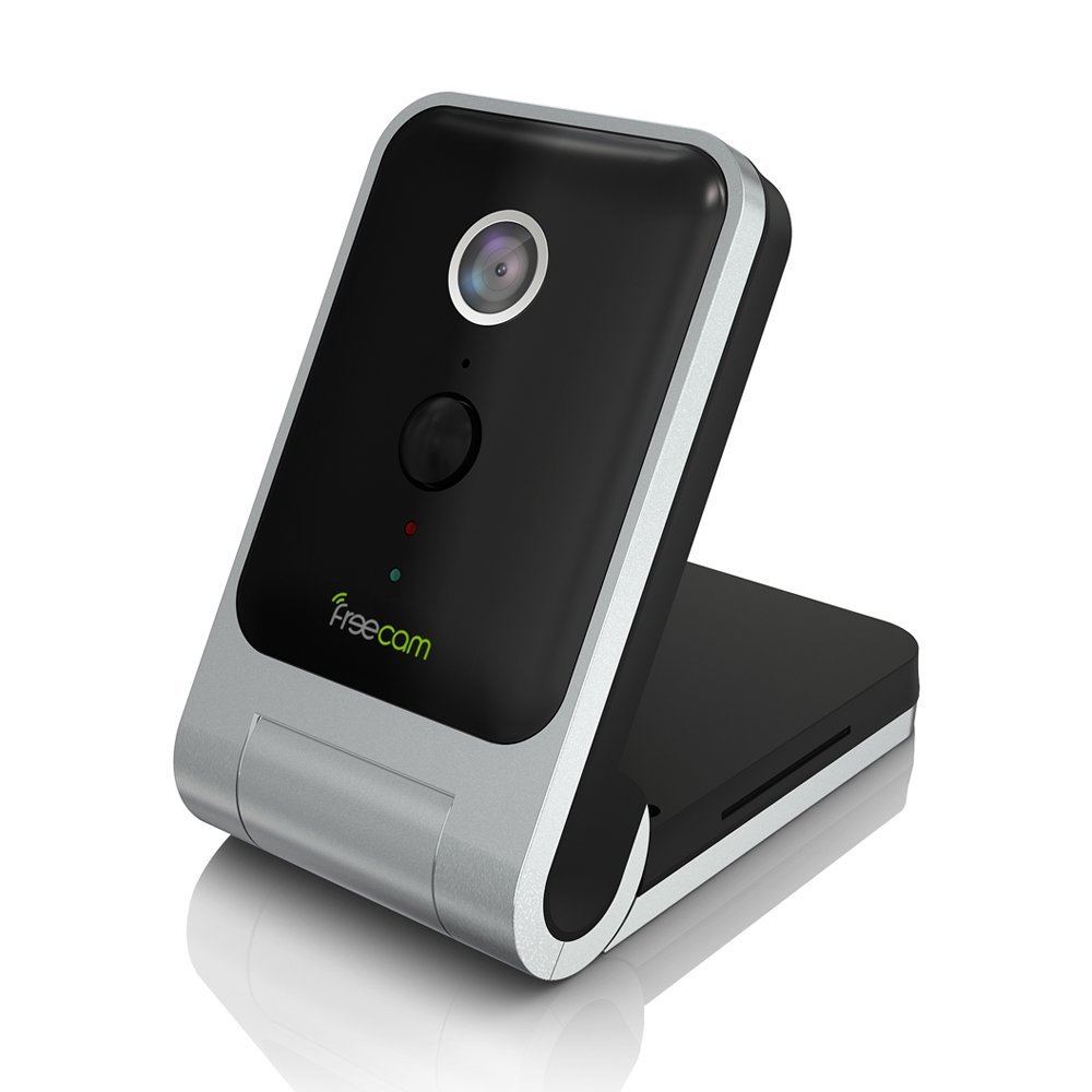 FREECAM mini Wireless WiFi camera Portable battery Security IP Camera Indoor HD 720P PIR Audio Video with Remote app