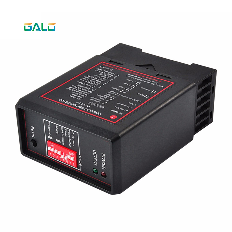 220V PD-132 Inductive Vehicle Single Loop Detector For Automatic Gate Opener Barrier Gate Traffic Inductive Vehicle Access