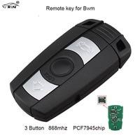 RIN 868MHz 3Button Remote Car Key For BMW E60 E61 E70 E71 E72 E81 E82 E87