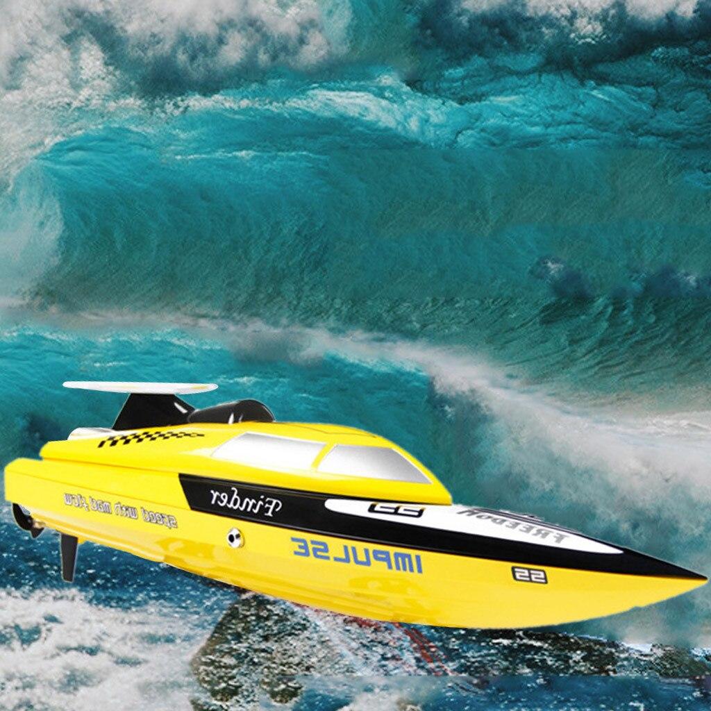 Ferngesteuertes U-boot Fernbedienung Spielzeug Rc Boote Kidome Aufladen Outdoor High Speed Rc Boot 2,4 Ghz 4 Kanal Racing Fernbedienung Boot Geschenk Für Kinder Z227 In Vielen Stilen