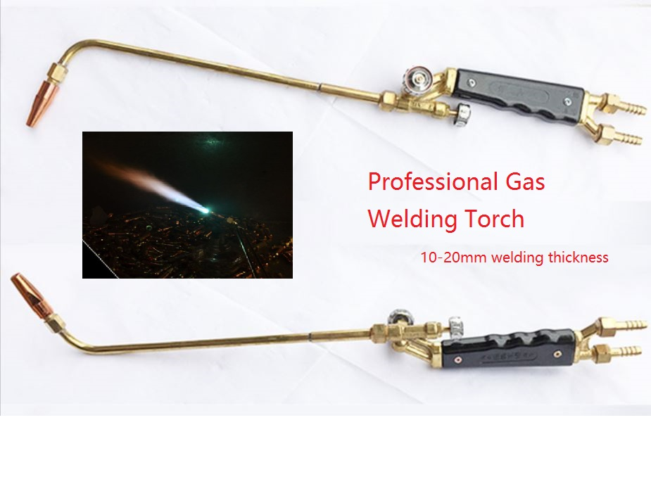 Welding Torch Professional Gas Welding Torch H01-20B Copper Body 304 Stainless Steel Pipe suitable Welding 10-20mm Steel mig mag burner gas burner gas linternas wp 17 sr 17 tig welding torch complete 17feet 5meter soldering iron air cooled 150amp