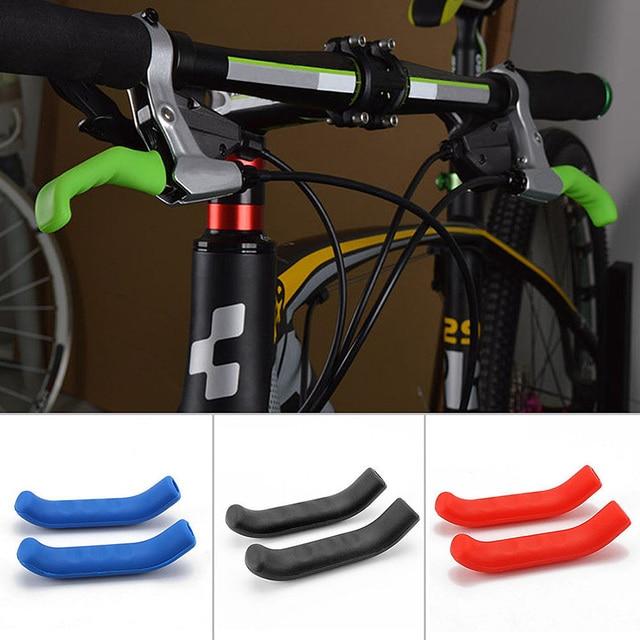 1 пара силиконовых защитных ручек рукава велосипедные защитные шестерни MTB дорожный Рычаг стояночного тормоза велосипеда ручка протектор велосипедные аксессуары