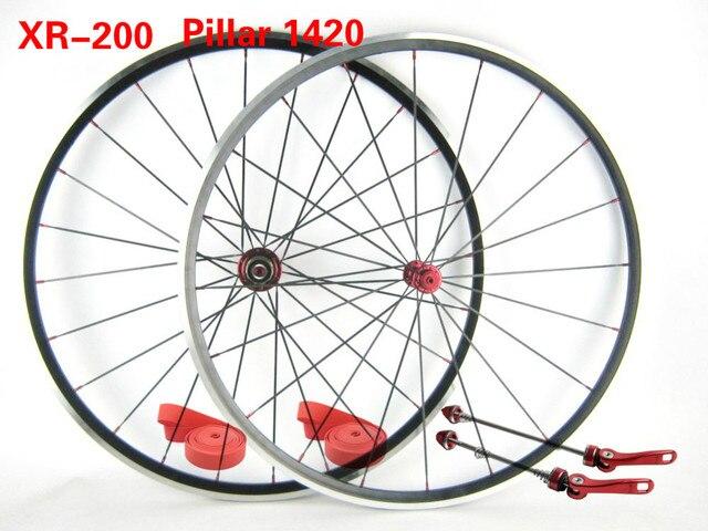 1265g إطارات دراجة تسلق الجبال خفيفة الوزن KINLIN XR200 الطريق دراجة سبيكة العجلات Powereway/Bitex/اختيار محور عمود 1420 أو CN424 تكلم دراجة العجلات