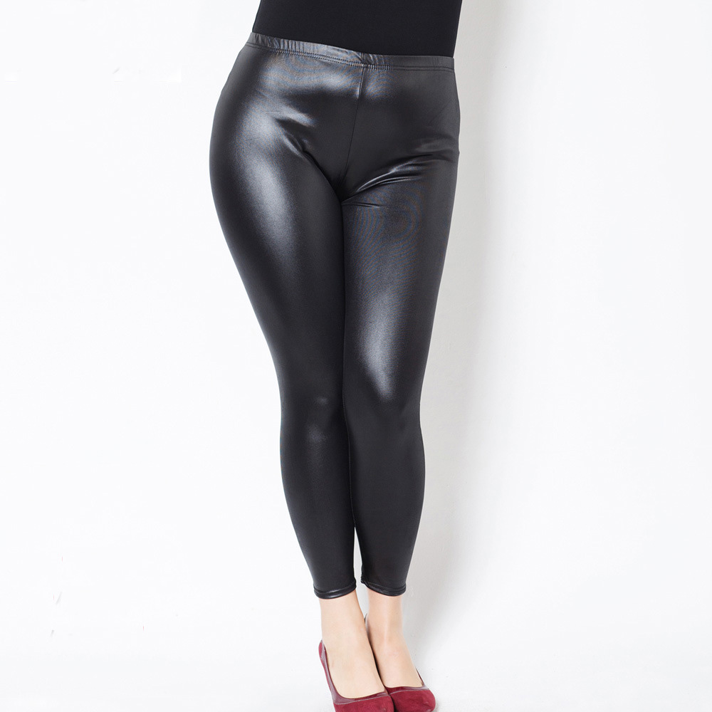 Fake-Leather-Wet-Look-Gothic-Shiny-Wet-Look-Plus-Size-PU-Leggings-Women-Large-Size-XXXXXL