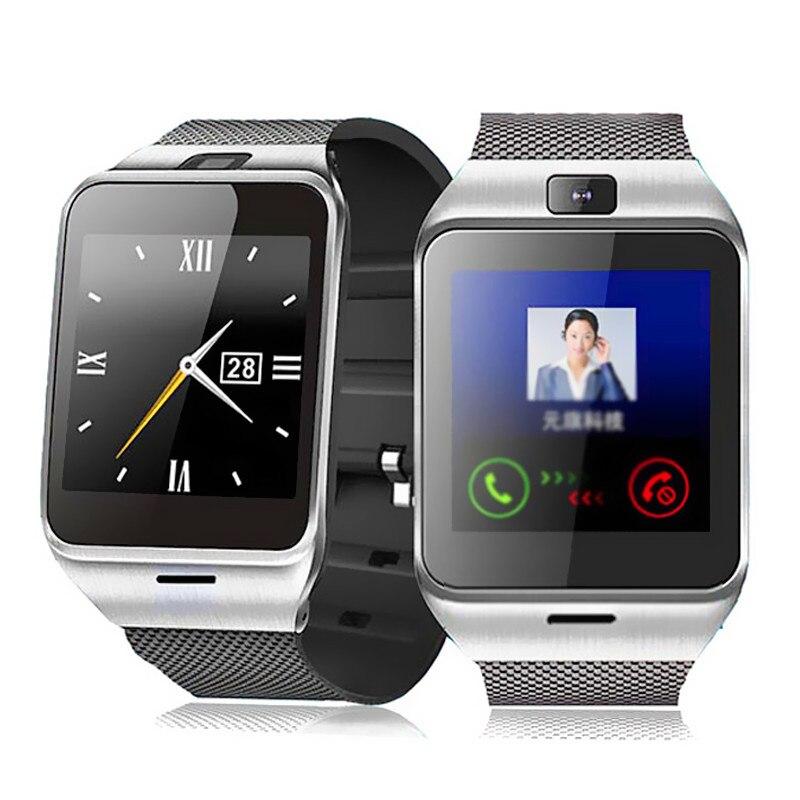 Galleria fotografica Aplus Bluetooth smart watch GV18 smartwatch avec NFC Caméra SIM GSM Téléphone Sync Appel Rappel pour Android IOS Étanche Portable