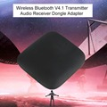 Q16 Wireless Bluetooth V4.1 Transmitter Portable Bluetooth Audio Player Music Receiver Dongle Adapter Black