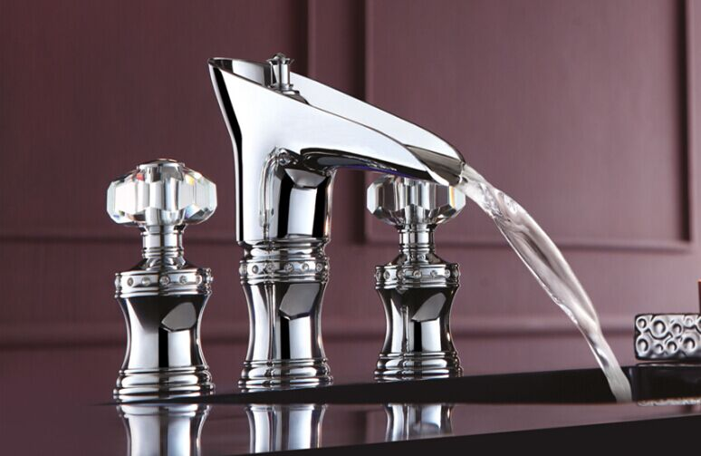 New 8 Roman Widespread Lavatory Bathroom Sink Faucet Oil: ROMAN SINK FAUCET BATHROOM MIXER TAP Widespread Basin