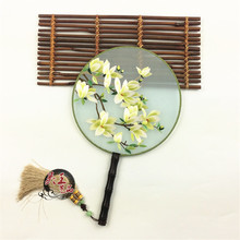 suzhou embroidery fan high-end products pure hand