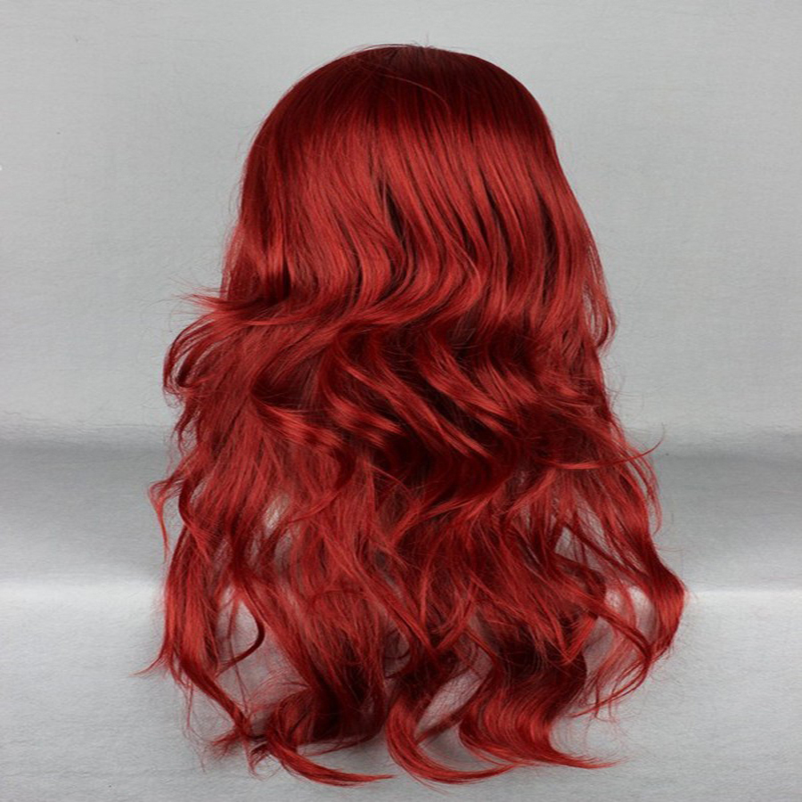 HAIRJOY Synthetic Hair Zipper 70cm Long Wavy Harajuku Lolita Cosplay Wig 18 Colors Available 109