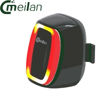 Meilan X6 Bicycle Smart Tail Lamp Bike Rear Light 16 LED 7 Mode Rechargeable Waterproof Safety