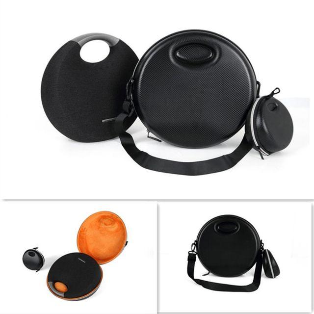 US $21 5 24% OFF|Wireless Bluetooth Speaker EVA Hard Storage Bag Charger  Case For Harman Kardon Onyx Studio 5-in Speaker Accessories from Consumer
