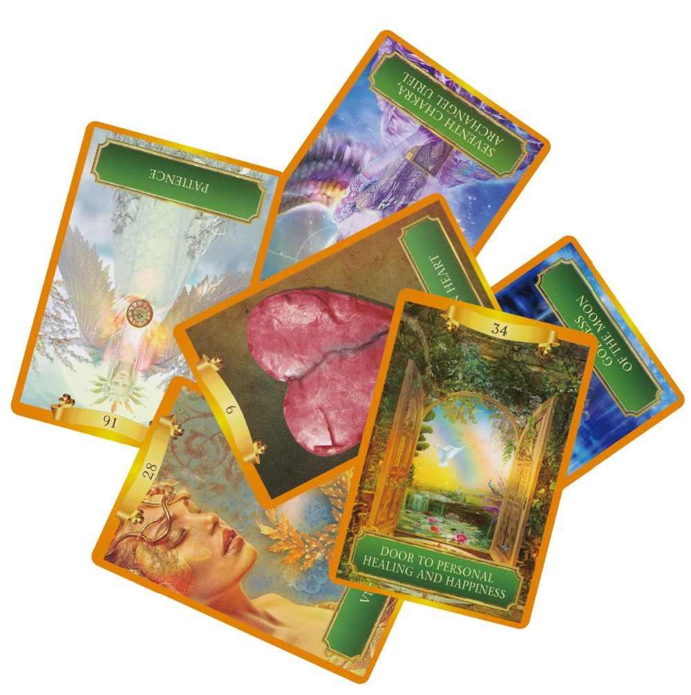 2018 английские карты power oracle deck 53 карты, карты Таро руководство-гадание Фортуна английская настольная игра