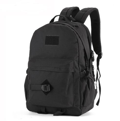 Hommes armée style molle sac à dos camping sacs en nylon imperméable à l'eau école militaire treking ripstop boisé tactique équipement pour hommes 40L