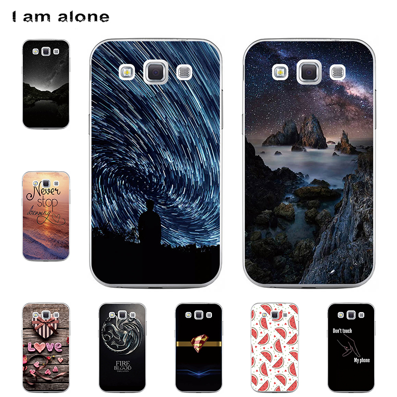 I am alone Phone Cases For <font><b>Samsung</b></font> <font><b>Galaxy</b></font> <font><b>Win</b></font> <font><b>I8550</b></font> I8552 4.7 inch Soft TPU Bags Mobile Cellphone Fashion Free Shipping image