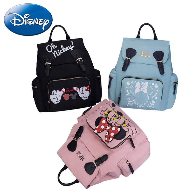 Disney 2pcs/set Diaper Bag Backpack Large Capacity 2019 New Baby Bags Nappy Bag For Baby Care Travel Backpack Nursing Handbag