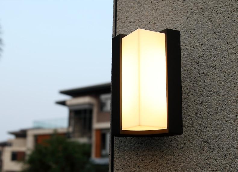 Elegant Garden Lamp 220v Led Outdoor Modern Lights Up Down Outdoor Wall Light Led  Outdoor House Wall Lamps Minimalist Wall Outdoor Art