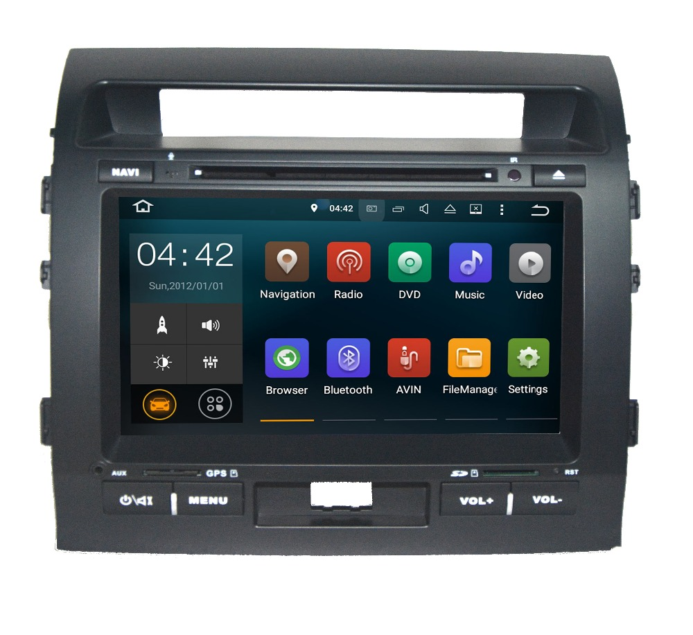 2G RAM 9 inch Android 7 1 System GPS Navigation System with DVD Stereo Media Auto