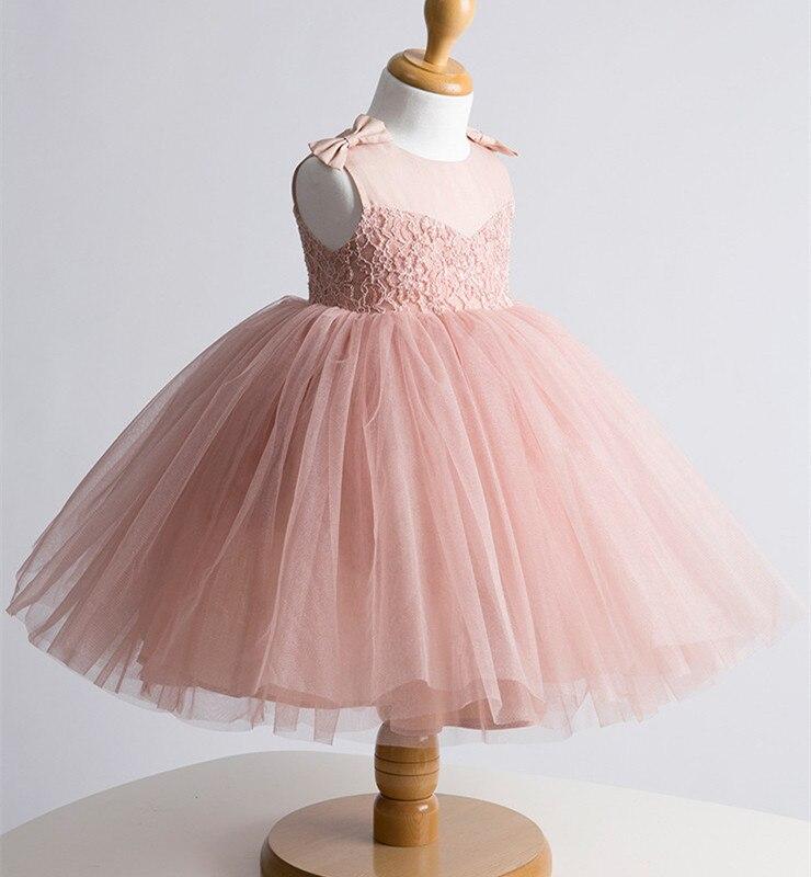 Whosale de encaje traje de bautizo bautismo para bebés, ( rosa ...