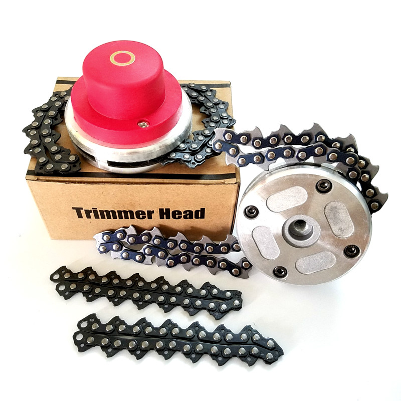NEW Lawn Mower Chain Brushcutter Chain Grass Trimmer Head For Garden Lawn Mower Parts For Trimmer Garden Tools