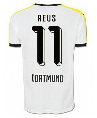 015 2016 Jersey de futbol Borussia Dortmund Maillot MARCO REUS Camiseta  Borussia Dortmund 15 16 BVB Dortmund Camisa futbol-in Soccer Jerseys from  Sports ... 9bbf662d70cad