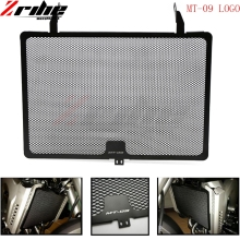купить mt09 Motorcycle Aluminum Radiator Guard Grille Oil Cooler Cover For Yamaha MT-09 MT09 XSR 900 XSR900 FZ09 FJ09 2013 2014 2015 по цене 991.95 рублей