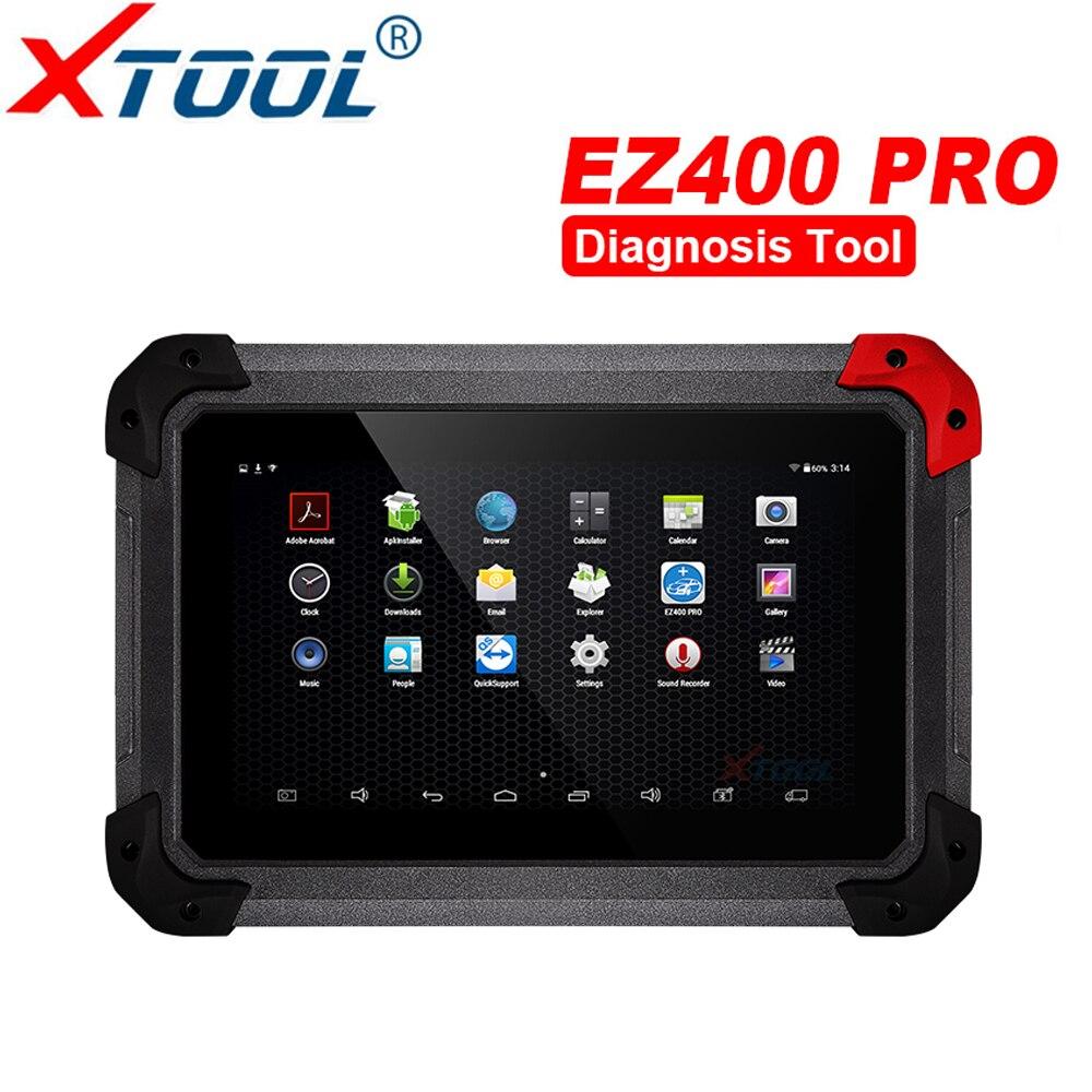 XTOOL EZ400 Профессиональный диагностический инструмент OBD2 OBDII сканер Диагностический инструмент бесплатного обновления онлайн инструмент диа