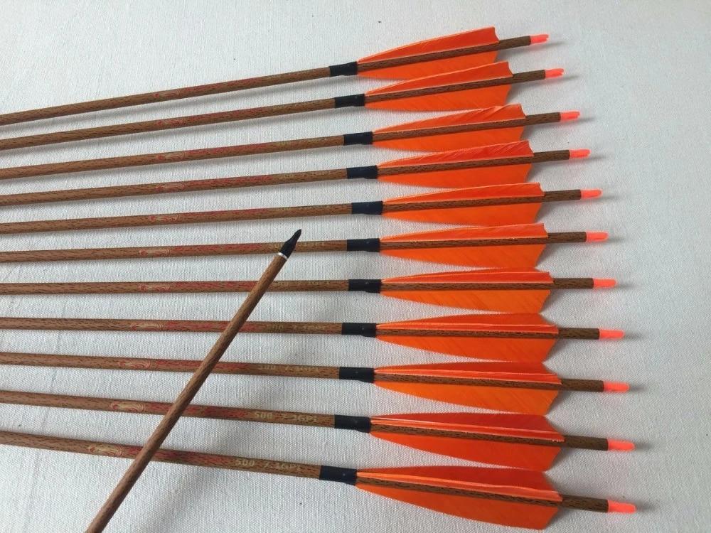 12 Pieces Arrow Shafts Hunting Bow Archery Nocks for ID 6.2mm Arrow Red