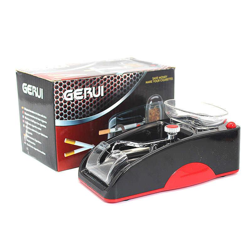 電気自動作る圧延機タバメーカーローラー DIY 喫煙ツールたばこの自動販売機、赤、.Blue 利用可能