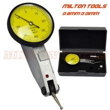 Высокое качество 0-0,8 мм* 0,01 мм Циферблат тестовый индикатор набора калибровочный Индикатор 3 шт./лот