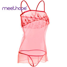 Ms. Hot Sale Sexy Lace Lingerie Pajamas Dolls Slips Temptation Nightdresses Underwear Clothing Stickers