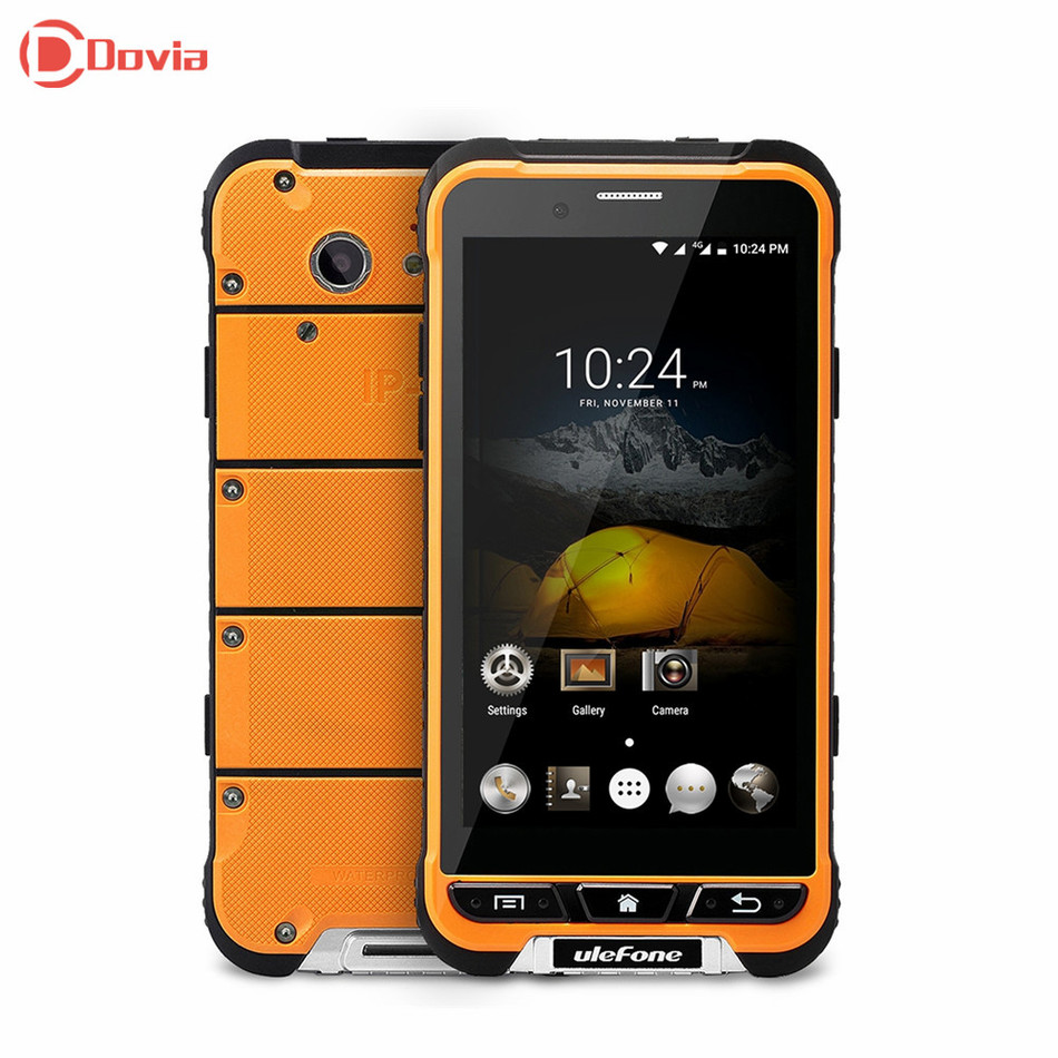 Ulefone MTK6753 ARMADURA 4.7 pulgadas 4G Smartphone Octa Core 3 GB de RAM 32 GB