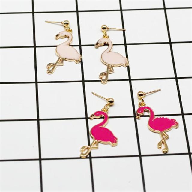 Women's Fashion Flamingo Shaped Earrings