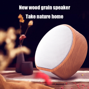 Image 4 - Wood Grain Bluetooth Speaker Portable Outdoor Wireless Mini Bluetooth Sound Box Support AUX TF Card For iPhone Huawei Xiaomi