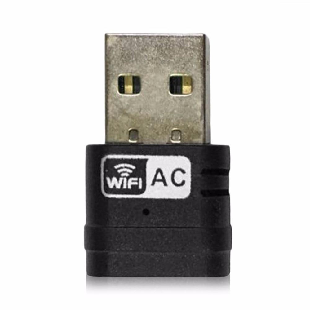 Беспроводной 2.4 г 5 г 5 ГГц 802.11ac USB WiFi адаптер сети Dual Band карты адаптер High Скорость приемник для портативных ПК